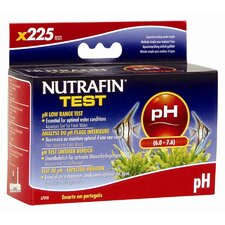 Nutrafin pH Low Range Freshwater Aquarium Test Kit - 225 Test
