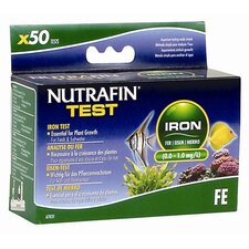 Nutrafin Iron (0.0-1.0 mg/l) Iron Test Kit for Fresh and Saltwater - 50 Tests