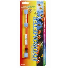 Living Sea Large Hydrometer with Thermometer Celsius and Fahrenheit