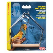 Living World Wooden Perch Swing