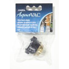 Marina Brass Faucet Adapter for Marina AquaVac