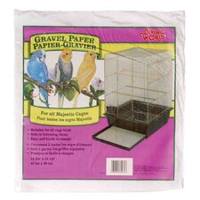Living World Gravel Paper (8 Pack)