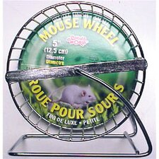 Living World Chrome Plated Mouse Exercise Wheel