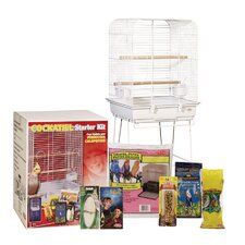 Living World Exotic Cage Cockatiel Starter Kit