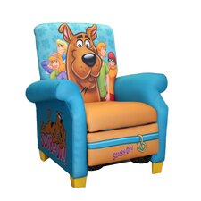 Scooby Doo Paws Kid's  Recliner Chair