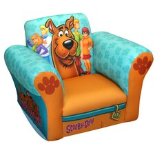 Scooby Doo Paws Small Standard Kid's  Rocking Chair