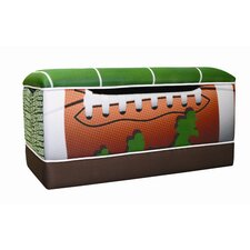 Football 50 yard Line Toy Box