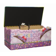 Cup Cake Collection Toy Box