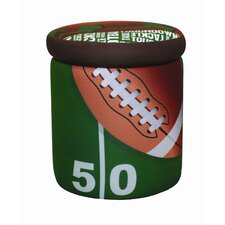 Football 50 yard Line Kid's Stool