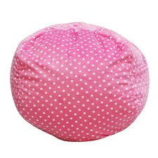 Polka Dot Bean Bag Chair II