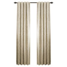 Room Darkening Rod Pocket Window Curtain Panel