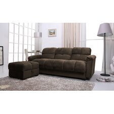 Phila Sofa Bed and Ottoman Set