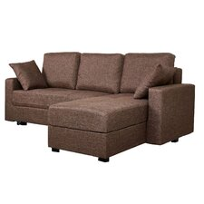 Aspen Convertible Sectional Sofa with Right Facing Chaise
