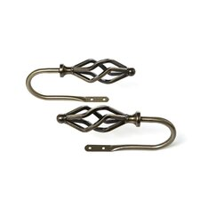 Modern Marquise Curtain Holdback (Set of 2)