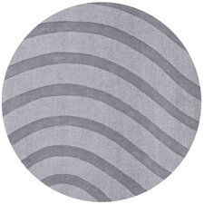 Transitions Light Gray/Gray Waves Rug