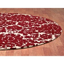 Structure Fenway Dark Red/Beige Rug
