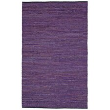 Matador Purple Chindi Rug