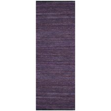Matador Leather Chindi Purple Rug