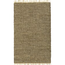 <strong>St. Croix</strong> Matador Brown Leather/Natural Hemp Rug
