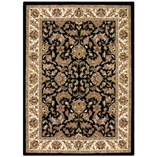 Traditions Isphan Black/Beige Rug