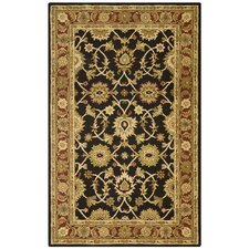 Traditions Kashan Black/Tan Rug