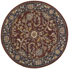 Traditions Kashan Red/Blue Rug