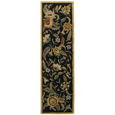 Traditions Paradise Black Rug