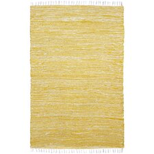 Complex Yellow Rug
