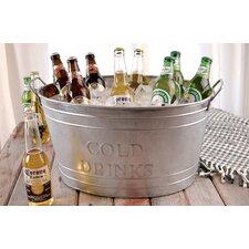 <strong>St. Croix</strong> Kindwer Galvinize Cold Drinks Oval Tub