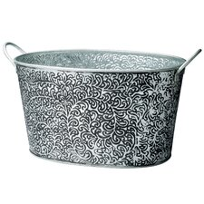 <strong>St. Croix</strong> Kindwer Antiqued Vine Relief Oval Party Tub