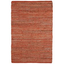 Earth First Orange Rug