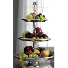 Kindwer Three Tier Beaded Aluminum Stand