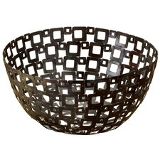 <strong>St. Croix</strong> Kindwer Square Pattern Metal Basket