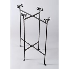 Kindwer Iron Floor Stand Oblong Tub