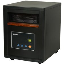 Zone Heating System 1500 Watt Infrared Cabinet Space Heater