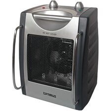 <strong>Optimus</strong> Portable Fan Forced Utility Space Heater with Thermostat
