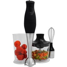 Pure Life 4 Piece 3 in 1 Hand Blender Set