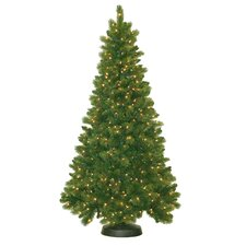 7.5' Royal Mixed Pine Christmas Tree with 600 Clear Lights