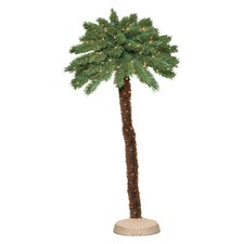 <strong>General Foam Plastics</strong> Green Tropical Artificial Christmas Tree