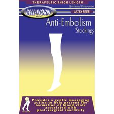 Anti-Embolism Stockings 18mmHg Thigh-high Close Toe in Beige