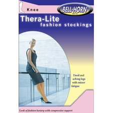 TheraLite 9-15mmHg Knee-high Close Toe Stocking in Beige