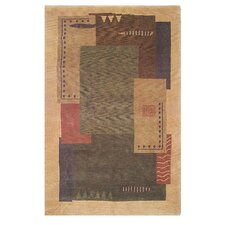 American Home Modern Tiban Gold/Multi Rug