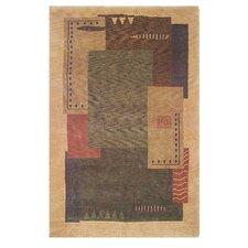 American Home Modern Tiban Gold/Multi Rug