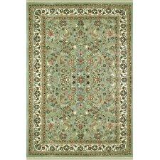 American Home Classic Kashan Light Green/Ivory Rug