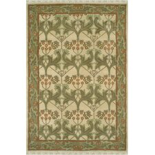 American Home Classic Arts & Craft Gold/Sage Rug