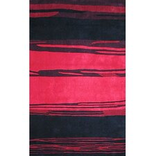 Bright Rug Horizon Pink/Black Rug