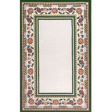 Bucks County Ivory Border Rug