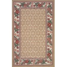 <strong>American Home Rug Co.</strong> Bucks County Autumn/Ivory Damask Rug