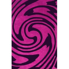 Modern Living Jazzy Purple/Black Rug