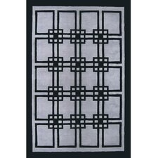 <strong>American Home Rug Co.</strong> Modern Living Omni Gray/Black Rug